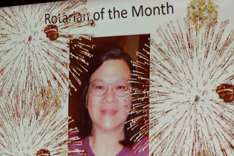 Christine Ng - Rotarian of the Month